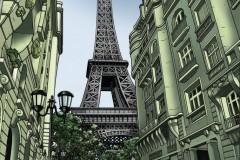 Parijs-Giclee-gesigneerd-A2