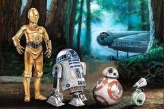 droids-acryl-on-canvas-40-x-80-cm